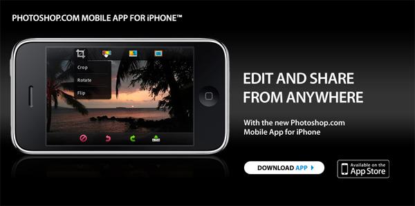 אפליקציית פוטושופ לאייפון