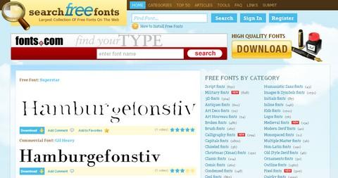 free-fonts - פונטים בחינם