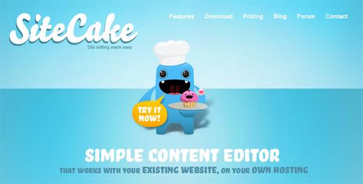 מערכת ניהול תוכן - SiteCake