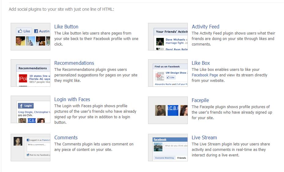 תוספים לפייסבוק