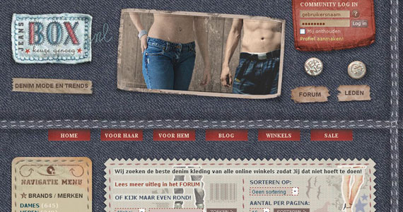 עיצוב של ג'ינס. רעיון מיוחד ויחודי