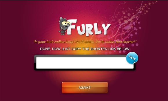 שירות לקיצורי כתובות Furly