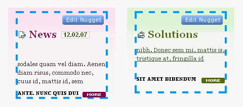 בניית אתרים באמצעות Nuggetz - מערכת ניהול תוכן