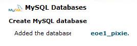 שם של בסיס נתונים