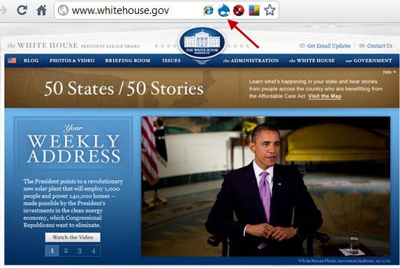 אתר של בית הלבן נבנה באמצעות מערכת ניהול תוכן - Drupal  דורפל