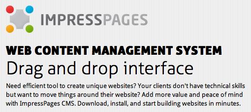מערכת ניהול תוכן - ImpressPages
