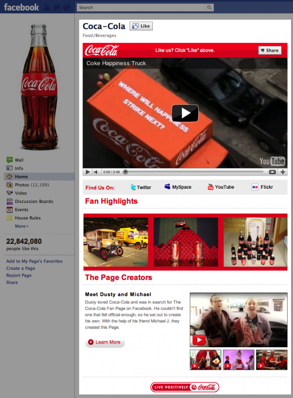 CocaCola | Facebook
