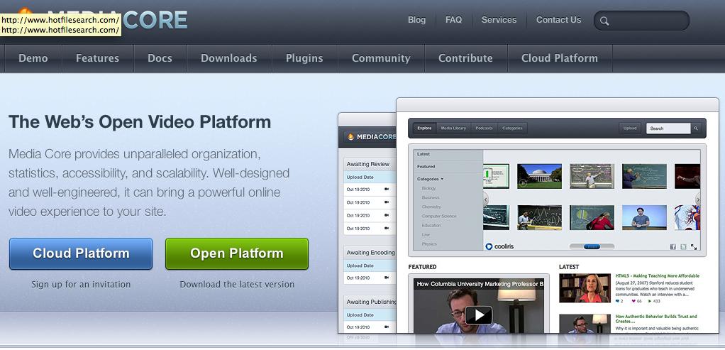 בניית אתר וידאו כמו יוטוב – MediaCore