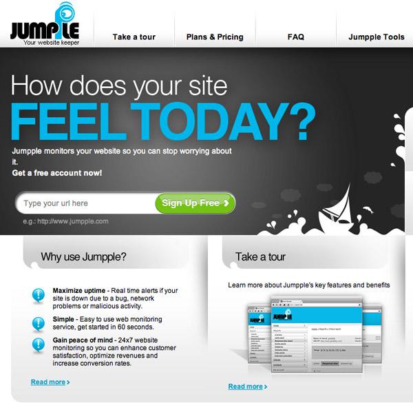 jumpple - בדיקת זמינות אתרים
