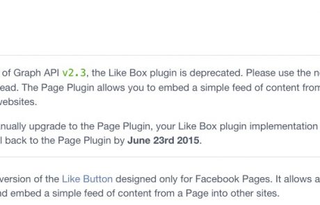Facebook סוגרת פיצ'ר הנפוץ של Like Box